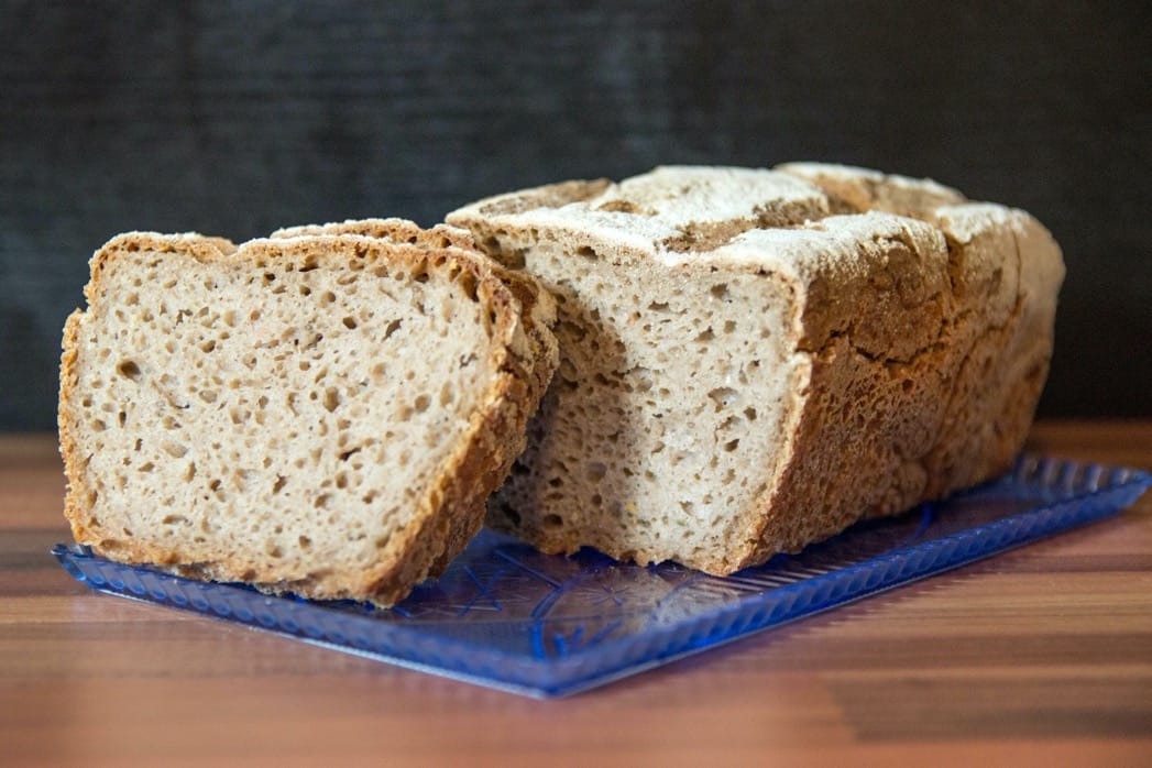 Žitný kváskový chléb